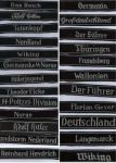 German Cuff Titles(Ribbon)